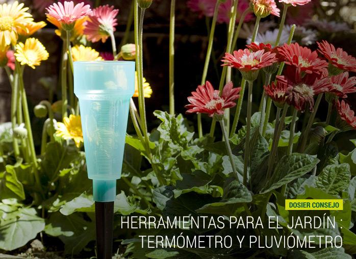 Herramientas para el jard n term metro y pluvi metro for Herramientas para el jardin