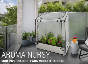 Mini invernadero adaptable a Modulo Garden