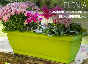 Jardinera rectangular pino nortene - Jardineras de colores ...