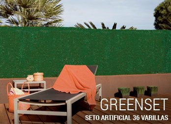 Seto artificial GREENSET