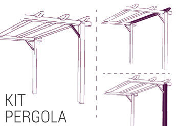 Kit pérgola addo
