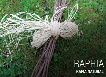 Rafia natural