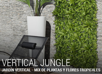 Jardín Vertical - VERTICAL JUNGLE