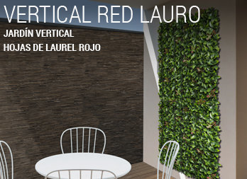 Jardín Vertical - VERTICAL RED LAURO