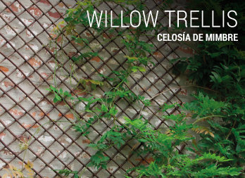 Panel celos a privacy oval pino nortene Celosia para jardin