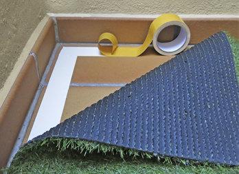 Cinta adhesiva doble cara para la fijaci n del c sped - Como quitar cinta adhesiva doble cara de la pared ...